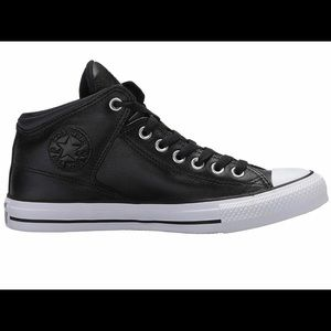 Converse  Street Leather High Top Sneaker All Star